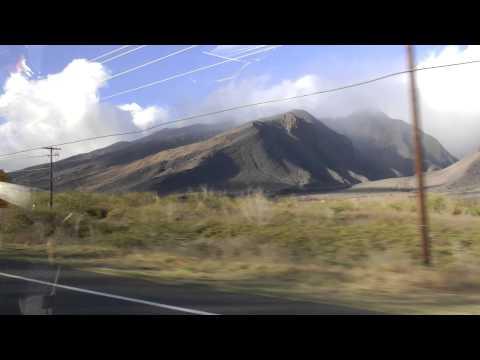 driving from Kihei, Maui to Napili-Honokowai, Maui 1080p January 2013