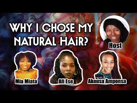 Why I Chose My Natural Hair