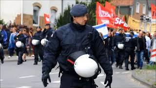 Demo gegen Nazis/ Keine Solidarität mit Holocaustleugner*innen! Quelle Bielefeld