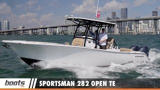 Sportsman 282 Open TE: First Look Video Sponsored by United Marine Underwriters