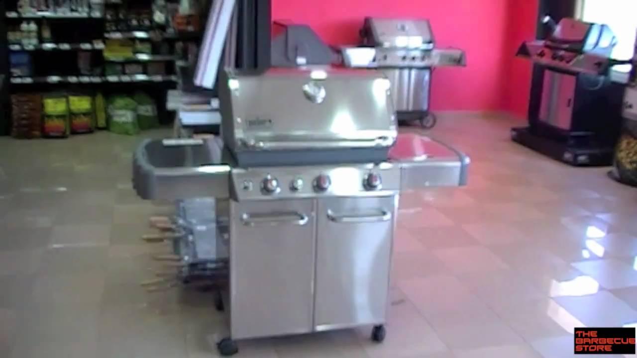 barbacoa a gas weber genesis s 330 youtube. Black Bedroom Furniture Sets. Home Design Ideas