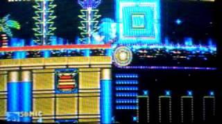 Sonic 2 SEGA (Casino Night) Part 1