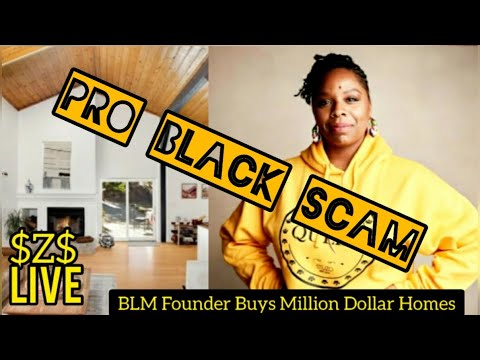 BLM FOUNDER BUYS 4 HOUSES for $4.2 MILLION & BIDDING on Home in BAHAMAS [Pro Black Scam Exposed]