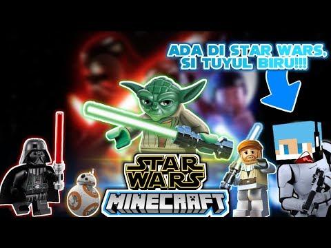 Tuyul Biru Ada Di Star Wars ? | Minecraft Pocket Edition | Indonesia