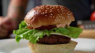 Burger with friends