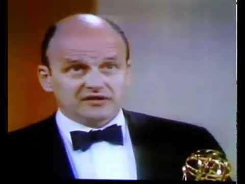 Werner Klemperer Colonel Klink at the Emmy Awards  1969