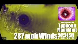 287 mph winds!?!?!? Typhoon Mangkhut