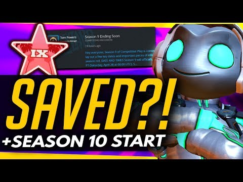 Overwatch | LUCIO SAVED + More PTR Changes / Season 10 Start Date