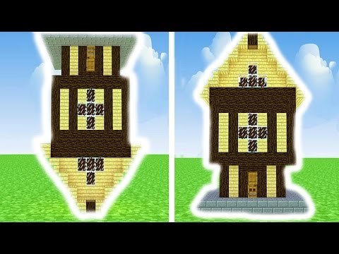 UPSIDE DOWN MINECRAFT HOUSE TROLL | Minecraft SMP Ep.2