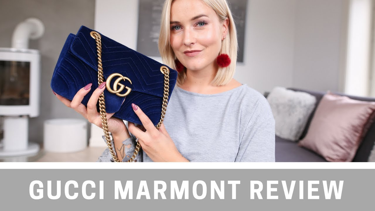 26baf784abf2 GUCCI MARMONT REVIEW + WHAT'S IN MY BAG I KAJA-MARIE - YouTube