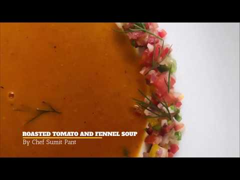 How to make Roasted Tomato and Fennel soup �� || IHM Atk Menu ||
