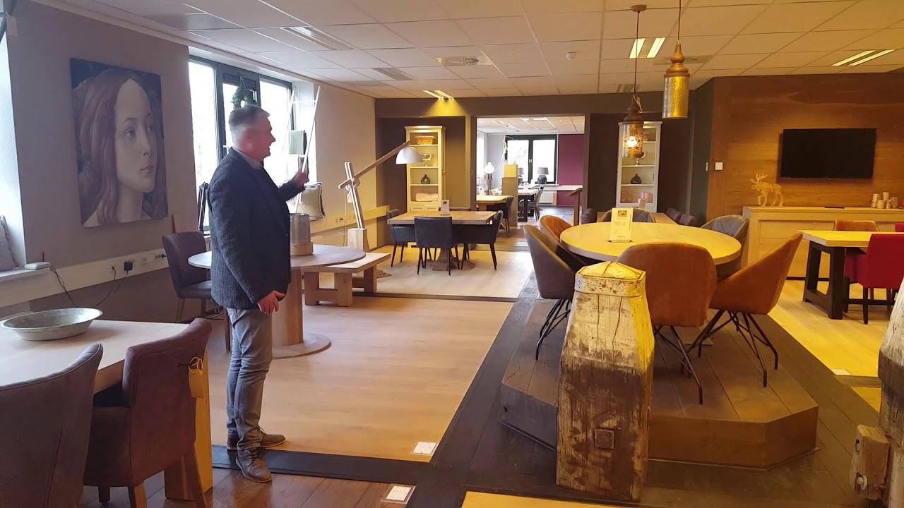 Houten Vloeren Tiel : Showroom fairwood houten vloeren en tafels tiel youtube