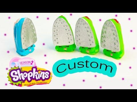 Shopkins Season 2 Custom Blue Sizzles DIY Inspired Painted Easy Fun  Toy Craft Cookieswirlc