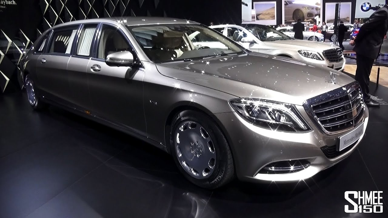 FIRST LOOK: Mercedes-Maybach S600 Pullman Limousine ...