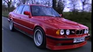 1988 Top Gear review of the BMW ALPINA B10 3.5