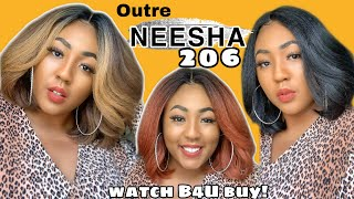 $26 Winner! 🔥 But... Outre Synthetic Wig Neesha Wig | Outre Neesha 206 Bobwig | Natural Looking Wigs