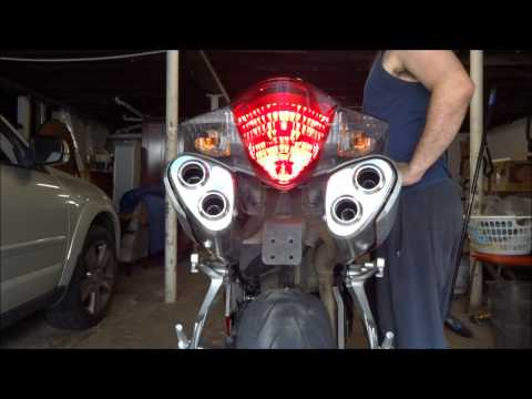 Exhaust Baffle Bypass Modification | Riding the Twisties