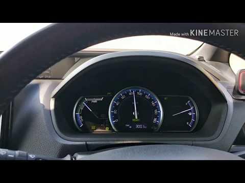 Расход топлива по трассе. Toyota Voxy hybrid 2014.