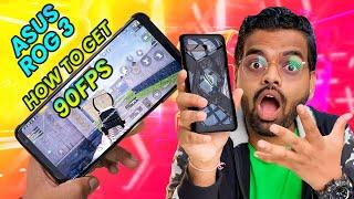 Asus Rog Phone 3 Pubg Gameplay 90FPS - Kaise ON hoga??