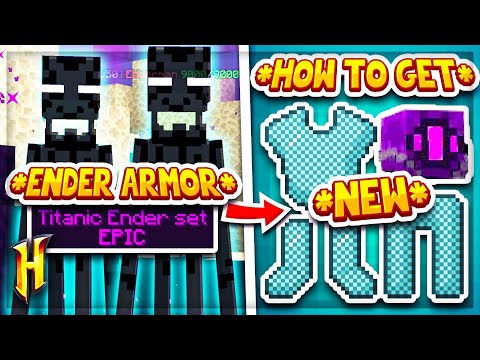 Hypixel Skyblock : HOW TO GET THE *NEW* ENDER ARMOUR! L Minecraft Skyblock (36)