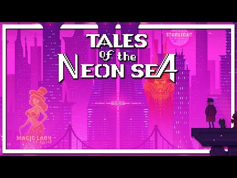 Tales Of The Neon Sea   Beautiful Pixel Art Cyber Dystopia Detective RPG (Gameplay)
