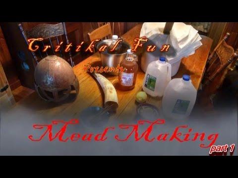 Making Mead  (5 Gallon Batch)