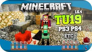 Minecraft TU19 YA DISPONIBLE PARA PLAYSTATION