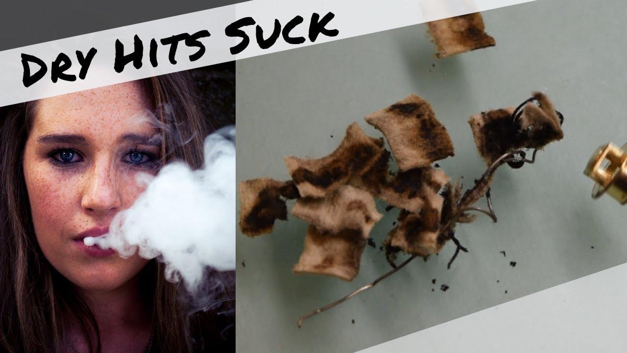 Why does my vape taste burnt? | Dry hit & how to avoid it