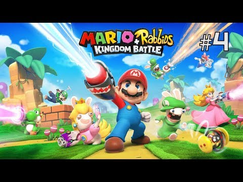 Twitch Livestream | Mario + Rabbids Kingdom Battle Part 4 [Switch]
