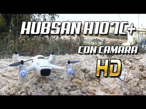 DRONE HUBSAN X4 H107C+: Con cámara HD y Altitude Hold -  Hubsan CAM PLUS