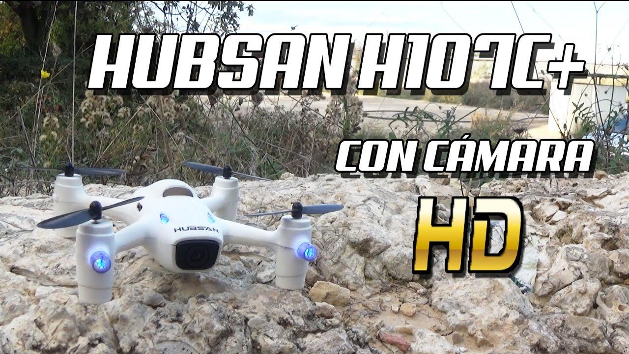 DRONE HUBSAN X4 H107C Con Camara HD Y Altitude