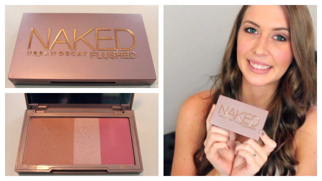 Review and Swatches: Urban Decay Naked Flushed in Naked