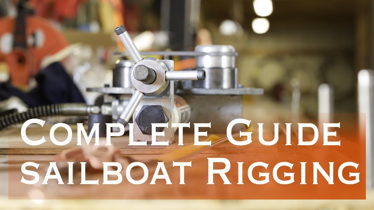 How to rig a sailboat (Sailing Miss Lone Star) S5E6
