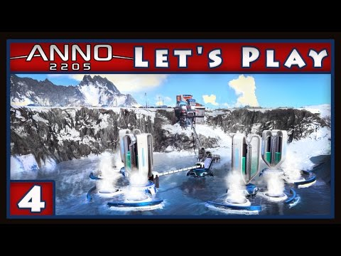 Anno 2205 Gameplay -  Arctic Base Building    (Anno Let's Play part 4)