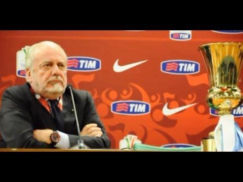 Napoli-Fiorentina (Coppa Italia): Insigne, Inler, Higuain, Benitez, De Laurentiis - 03/05/14