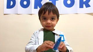 Yağız Doktor Oldu - pretend play with doctor