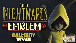 COD-WWll LITTLE NIGHTMARES EMBLEM TUTORIAL│SIX │1080P