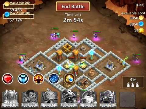 Castle Clash: Elite Dungeon 1