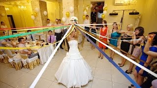Букет невесты с лентами. Свадебный обряд/wedding fine 2016