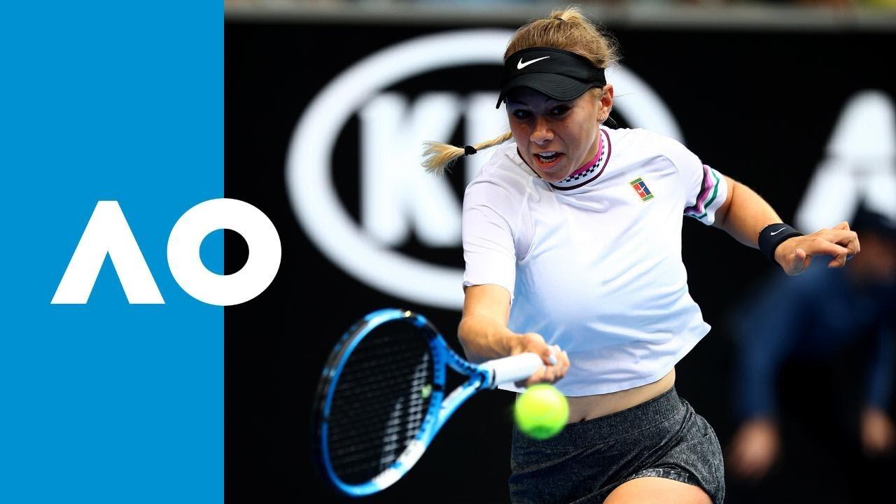 Amanda Anisimova wonder shot | Australian Open 2019