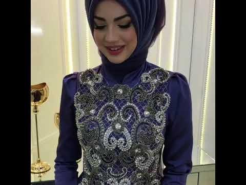 a6960f4e97aaa WWW.ModaVitrini.COM - Pınar Şems Saten Sahra Abiye Leylak - YouTube