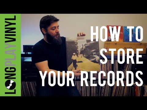 How To Store Your Vinyl Records