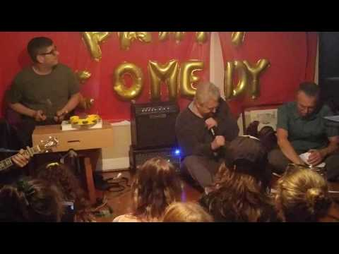 Daniel Johnston - 2/3 - Houston @ House Party Comedy (6/18/2016)