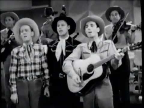 Tumbling Tumbleweeds --The Sons of the Pioneers 1945