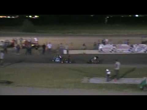Brennan Riley South Texas Speedway June 27 2009 Go Kart Feature Race
