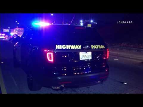 101 Freeway Fatal / Hollywood   RAW FOOTAGe