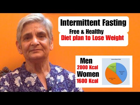 Intermittent Fasting Diet plan to lose Weight | Easy & Healthy Weight Loss Meal plan | Fat Loss