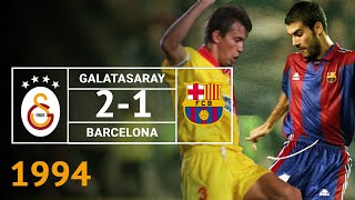 Nostalji Maçlar | Galatasaray 2 - 1 Barcelona ( 23.11.1994 )
