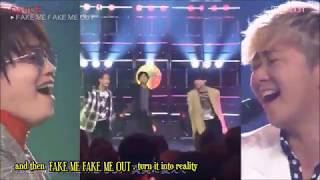 [Da-iCE] PLAYLIST - FAKE ME FAKE ME OUT (Eng Sub)