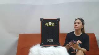 loa kẹo kéo karaoke mini giá 1380k